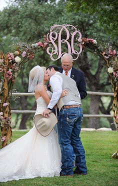 Country-Glam Wedding in Texas on Borrowed & Blue.  Photo Credit: Jessica Frey Photography