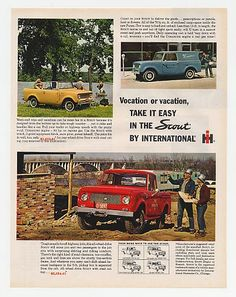 International Harvester Scout 80's & Scout 800's Ad