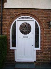 lovely 1930s front door | stairways to heaven....doorways too ...