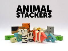 Animal Stackers - A New Kind of Building Block by Dan Nguyen — Kickstarter