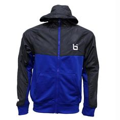 NL1 Tech Jacket Black/Royal