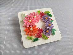 Crepe Paper, Paper Quilling, Tableware, Frame, Cards, Easel, Youtube, Instagram, Paper Engineering
