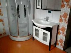 Model de baie in alb si portocaliu - Orange and white bathroom design White Bathroom, Sink, Orange, Design, Home Decor, Sink Tops, Vessel Sink, Decoration Home, Room Decor