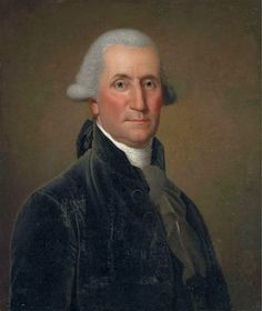 Portrait of George Washington, our first President.