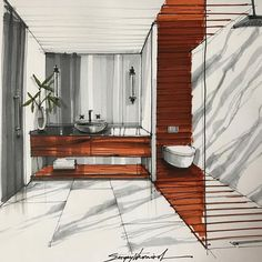 70 ideas for furniture sketch architecture design Croquis Architecture, Interior Architecture Drawing, Interior Design Renderings, Plans Architecture, Drawing Interior, Architecture Sketchbook, Interior Rendering, Interior Sketch, Classical Architecture