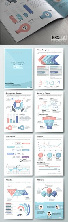 Set 6 by Andrew_Kras on GraphicRiver. This item containes a lot of infographic elements to design your own infographic, flyers, presentations or brochure. Infographic Resume, Infographic Templates, Infographics Design, Brochure Design, Brochure Template, Cv Template, Concert Flyer, Web Design Tutorials, Web Design Inspiration