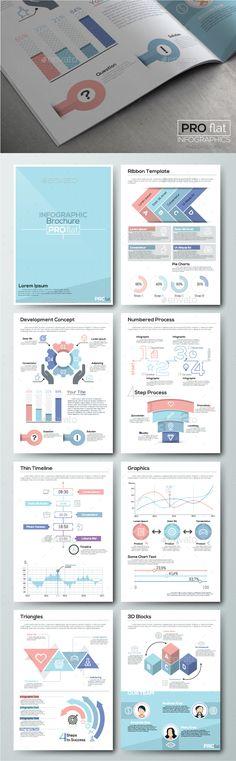 Infographic Tutorial infographic tutorial illustrator cs2 download : Dark Infographic Brochure Vector Elements Kit 3 | Brochures ...