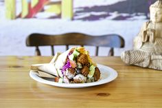 Yoffi Falafel by Robin Bernstein on Mahala Falafel, Cape Town, Places To Eat, Robin, Food, Essen, Falafels, Meals, European Robin