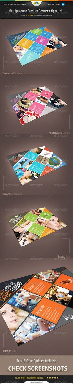 Multipurpose Product / Services Flyer Vol 4
