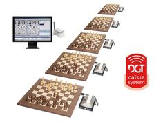 Caissa, Wireless tournament System.ONLY THE SYSTEM To connect 6 boards.
