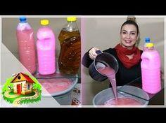 DESINFETANTE CASEIRO - MUITO CHEIROSO - Culinária em Casa - YouTube Detox Recipes, Lava Lamp, Cleanse, Kitchen Appliances, Bottle, Diy, Food, Youtube, Beauty Ideas