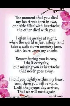 For all my Loved Ones. See ya on the other side!!