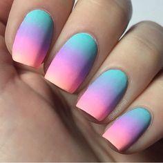 Nails rainbow Na… Nails rainbow Nails rainbow+ Cute Acrylic Nail Designs, Flower Nail Designs, Best Acrylic Nails, Tattoo Pink, Nagel Tattoo, Nagellack Design, Glow Nails, Fire Nails, Rainbow Nails