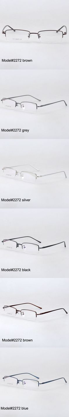 1877d827bd2 MY DOLI 2272 half rim high quality alloy temple eyewear glasses spectacles  myopia optical frame eyewear