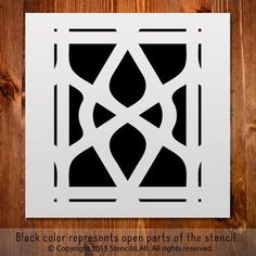 Small Versions of Wall Stencils - Allover Wall Stencils - Large wall stencils - Stencils for Wall painting and furniture painting! Large Wall Stencil, Stencil Painting On Walls, Painting Tiles, Geometric Pattern Design, Geometric Designs, Tile Patterns, Print Patterns, Stencils, Scroll Saw Patterns