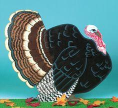 Yard Turkey Woodcraft Pattern