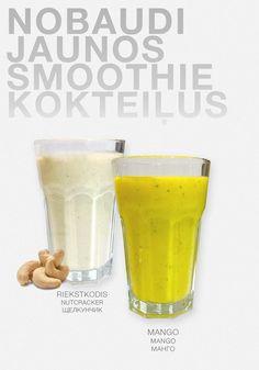 Kotai new smoothie nut cracker and mango