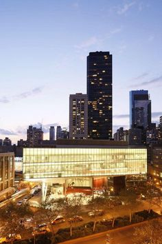 The Juilliard School of Dance, Music and Drama, at Lincoln Center.  NEW YORK CITY.