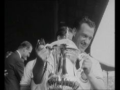 Manchester United v Bolton Wanderers, 1958 FA Cup Final highlights. Manchester United shirt available from camporetro.com.