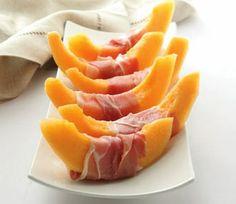 Romance is in the Air Picnic: Prosciutto Wrapped Melon