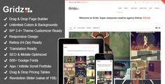 WordPress - Gridz - Creative Agency Retina Ready WP Theme | ThemeForest