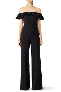 Rent Black Biondi Jumpsuit by Jay Godfrey for $55 - $90 only at Rent the Runway.