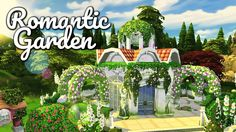 The Sims 4 - ROMANTIC GARDEN MICRO  REVIEW | Speed Build