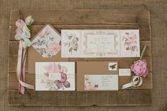Beautiful vintage-inspired, pink and floral filled wedding