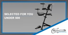 Best Electronic Drum Set Under 500 - Selected for you