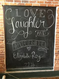 Seriously, our chalkboards are awesome, but our chalkboard artists are even more amazing!