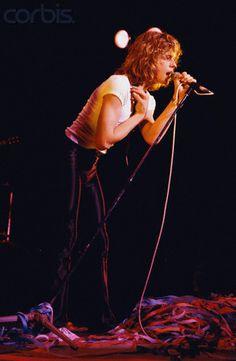 Leif Garrett performing on stage - 1980