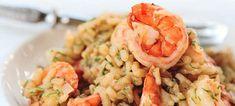 Ριζότο με γαρίδες και μανιτάρια