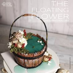 안녕하세요 디케입니다. 2월 플라워 케이크 심화반을 오픈합니다~ 정말... 플라워 파이핑의 홍수인듯합니다...