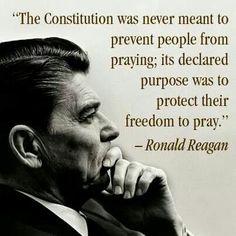 God bless you Ronald Reagan