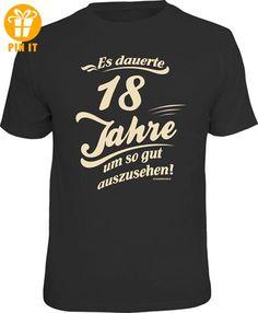 18 Jahre - Gutes Aussehen - T-Shirt - Größe XL - T-Shirts mit Spruch | Lustige und coole T-Shirts | Funny T-Shirts (*Partner-Link)