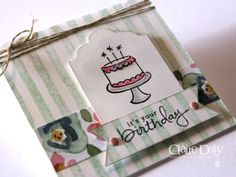Birthday Cards Melbourne ~ Stampin' up! australia: claire daly independent demonstrator