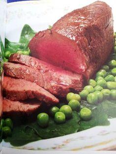 Rosbife de Filé mignon com verduras (Chef Silvia Percussi) Queridas amigas do Viva50, Fiz essa receita para um casal...