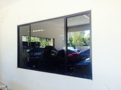 With security film you can't see inside - one way mirror ceramic window tint perfect for house window tinting and office window tinting. Frosted Window Film, Entertainment Table, Window Films, Prep Kitchen, House Windows, Small Rooms, Wall Colors, Healthy Recipes, Ceramics