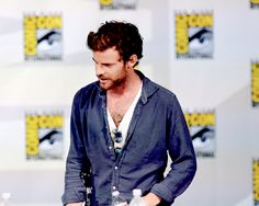 """Actor Harry Treadway at Showtime's """"Penny Dreadful"""" panel at San Diego Comic Con (July 24, 2014)."""
