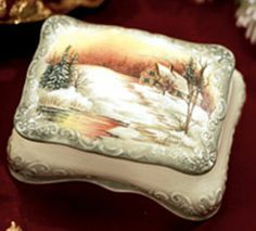 Winter Sunset project from DecoArt