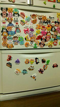 Hama Beads, Hamma Beads 3d, Pixel Art, Bead Crafts, Diy And Crafts, Disney Pixar, Amanda, Creations, Pearls