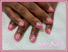 French rose violet thermo + stamping étoiles + liner blanc et or