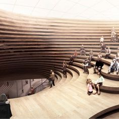 helsinki central library, we arechitecture + jaja architects  Interior