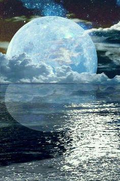 Ideas for painting sky night la luna Moon Photos, Moon Pictures, Beautiful Moon, Beautiful World, Shoot The Moon, Moon Art, Pompeii, Blue Moon, Stars And Moon