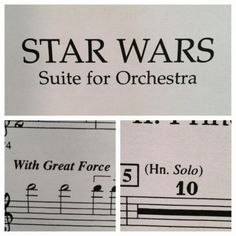 This sheet music for Star Wars via /r/funny...