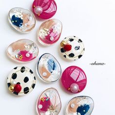 Diy Resin Crafts, Diy And Crafts, Handmade Accessories, Handmade Jewelry, Kawaii Gifts, Bead Embroidery Jewelry, Polymer Clay Earrings, Love Design, Cute Crafts