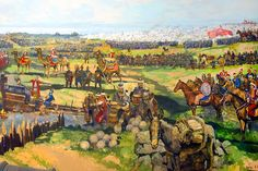 Ottoman camp during the Siege of Constantinople, 1453 Siege Of Constantinople, The Siege, Historical Pictures, Byzantine, Warfare, Continents, Civilization, Character Art, Past