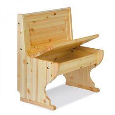 PARADISO PANCA 56, panca in legno di pino di 56 cm di lunghezza che insieme all'angolo e ad un'altra panca ti da la possibilità di creare una panca angolare personalizzata.