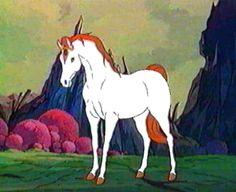 Les chevaux de fiction - Fougor - Fougor sous son apparence chevaline