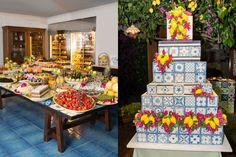 That's Amoré: Sofija & Sid Mehta's Dolce & Gabbana Inspired Wedding in Capri Wedding Vows, Chic Wedding, Trendy Wedding, Floral Wedding, Wedding Cakes, Dream Wedding, Inexpensive Wedding Invitations, Inexpensive Wedding Venues, Vow Renewal Invitations